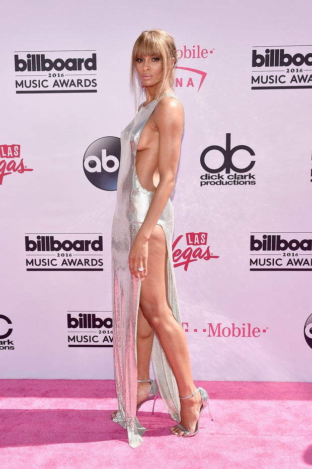 Ciara no Billboard Music Awards (Foto: AFP)