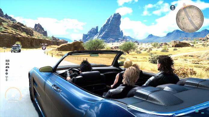 Final Fantasy XV: como personalizar o veículo na aventura (Foto: Reprodução/Victor Teixeira)