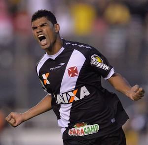 Dakson gol Vasco x Náutico (Foto: Fernando Soutello / Ag. Estado)