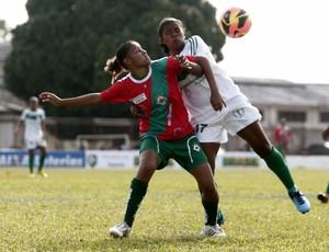 Tuna x Iranduba - Campeonato Brasileiro de Futebol Feminino (Foto: Tarso Sarraf/O Liberal)