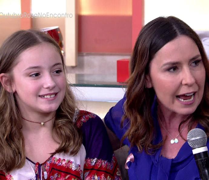 Repórter do RJTV teve o apoio da filha Júlia durante o tratamento (Foto: TV Globo)