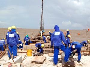 Construção civil foi o setor com a maior queda no Amapá, com -14,7% (Foto: Antonio Sena/Agência Amapá)