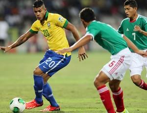 Brazil x Mexico Sub 17 (Foto: AFP)
