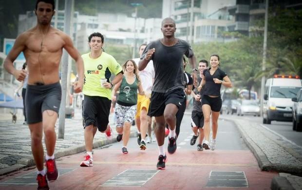 Corredores treinam corpo e criatividade para participar do Lado B na Corrida SP-Rio (Foto: Divulgação/Nike)