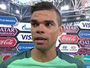 Pepe vibra com vitória sobre a Rússia  e deixa escapar que já pensa na Copa