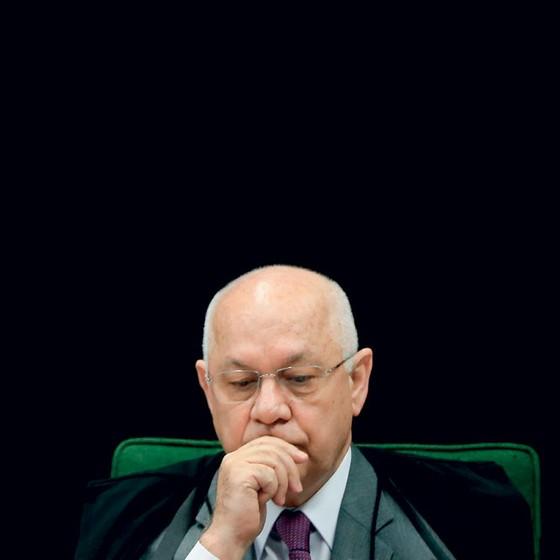 O ministro Teori Zavascki,morto em janeiro. (Foto: Pedro Ladeira/Folhapress))