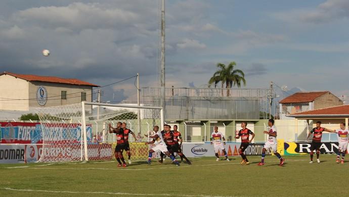 Guarani de Juazeiro x Fortaleza Campeonato Cearense Agenorzão (Foto: Honório Barbosa/Agência Diário)