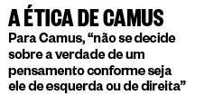 A ética de Camus (Foto: ÉPOCA)