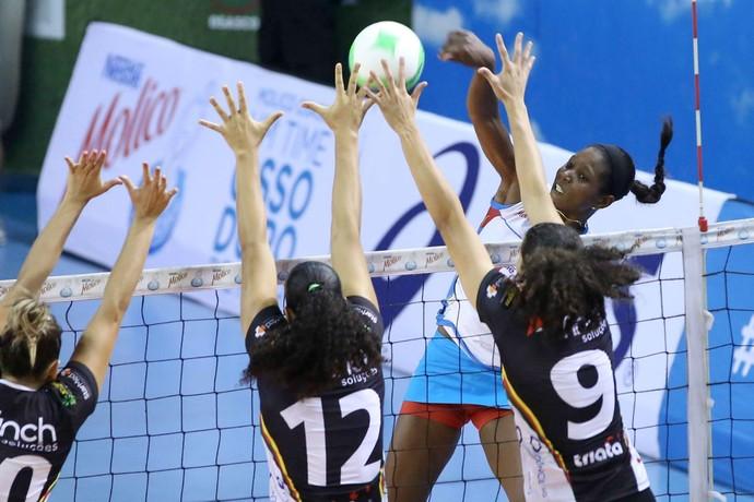 Osasco x Vôlei Bauru, pelo Campeonato Paulista (Foto: Divulgação / Osasco)