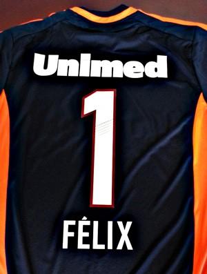 Camisa Felix goleiro Fluminense (Foto: Divulgação)
