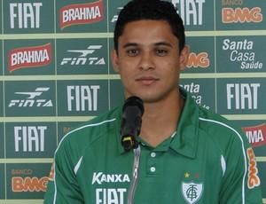 Pará na reapresentação do América-MG (Foto: Tarcisio Badaró/Globoesporte.com)