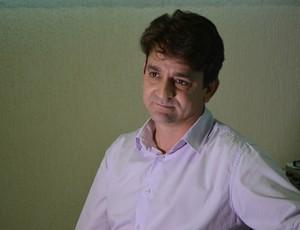 Carlos Aguilar, presidente do Ji-Paraná, RO (Foto: Pâmela Fernandes)