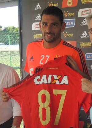 diego souza sport (Foto: Rômulo Alcoforado)