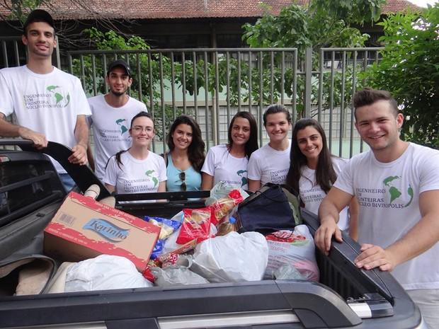 Divinópolis, doações, natal,  (Foto: ESF/Divulgação)