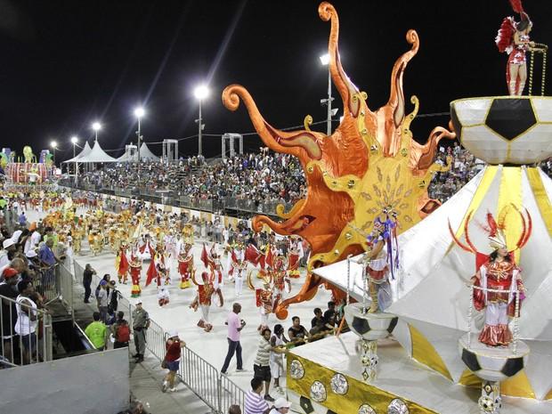 Desfiles carnaval Porto Alegre 2012 (Foto: Foto: Cristine Rochol/PMPA)