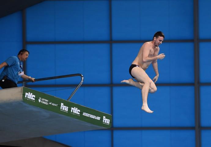 invasor saltos ornamentais FINA/NVC Diving World Series (Foto: Getty Images)