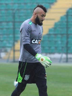 Alex Muralha aparece entre relacionados do Figueirense (Foto: Luiz Henrique / Figueirense FC)