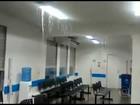 Imagens mostram chuva forte dentro de hospital em Itaboraí, no RJ