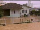 Chuva e granizo fazem milhares deixarem casas no PR e em SC