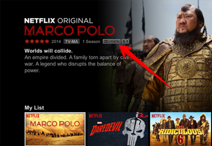 Netflix é uma das poucas fontes de conteúdo em Dolby Vision (Foto: Reprodução/Netflix)