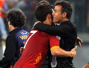 marquinho luis enrique roma gol napoli (Foto: Agência Reuters)