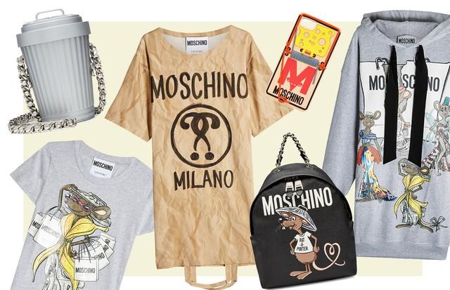 Capsule Collection da Moschino (Foto: Reprodução)