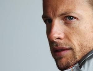 Jenson button mclaren gp da inglaterra (Foto: Agência Reuters)