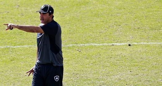 pronto (Vitor Silva/SSPress/Botafogo.)