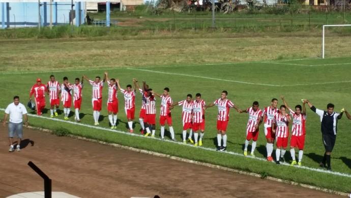 Amistoso entre Guajará e Cruzeiro-RO (Foto: Dayanne Saldanha)