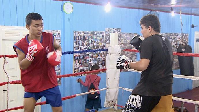 Boxe; Amapá (Foto: Reprodução/TV Amapá)