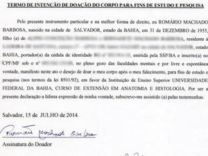 G1 Por Estudos E Com Pavor De Enterro Baiano Decide