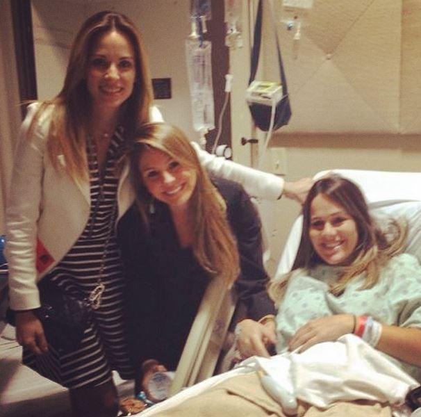 Fernanda Pontes na maternidade (Foto: Instagram / Reprodução)