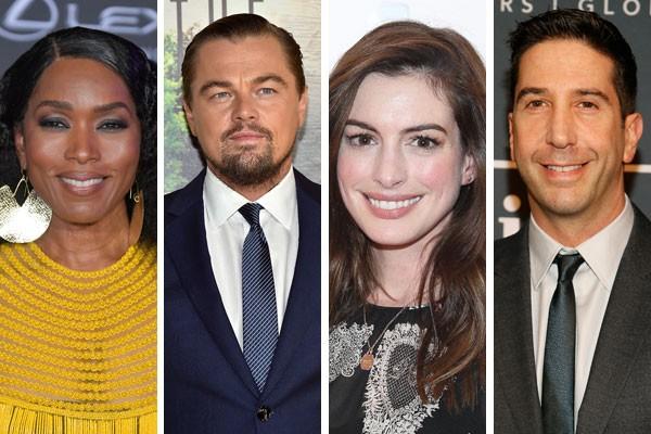 Angela Bassett, Leonardo DiCaprio, Anne Hathaway e David Schwimmer estão no grupo daqueles que já recusaram papeis relevantes no cinema (Foto: Getty Images)