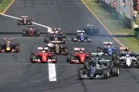 Largada, GP da Austrália de F1 (Foto: AP)