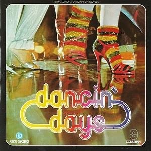 """Capa do disco da trilha sonora da novela """"Dancin' Days""""  (Foto: Divulgação)"""