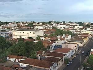 Araguari, cidade (Foto: Reprodução/TV Integração)