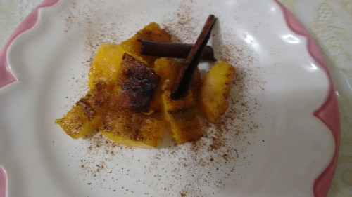 BANANA DA TERRA FLAMBADA DO CHEF