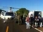Bebê é resgatado por helicóptero na BR-290 e levado a hospital no RS
