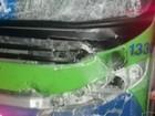 Motociclista bate em ônibus, morre e moto pega fogo, em Cachoeiro