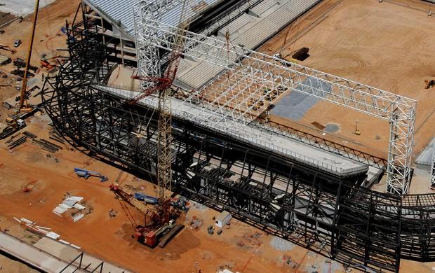 Cobertura da Arena Pantanal (Foto: Edson Rodrigues/Secopa)