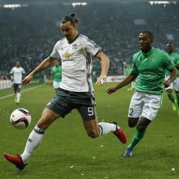 Manchester United Saint-Étienne Ibrahimovic (Foto: Reuters)