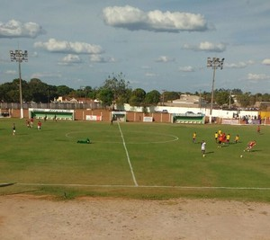 Jogo entre Gurupi e Tocantins (Foto: Horlan Tavares/Divulgação)