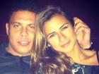 Acabou? Ronaldo e Paula Morais passam fim de ano separados
