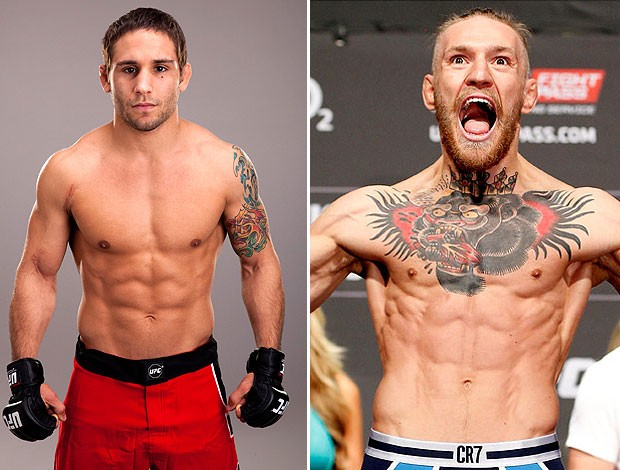 Chad Mendes y Conor McGregor intercambian provocaciones en vivo en TV inglesa