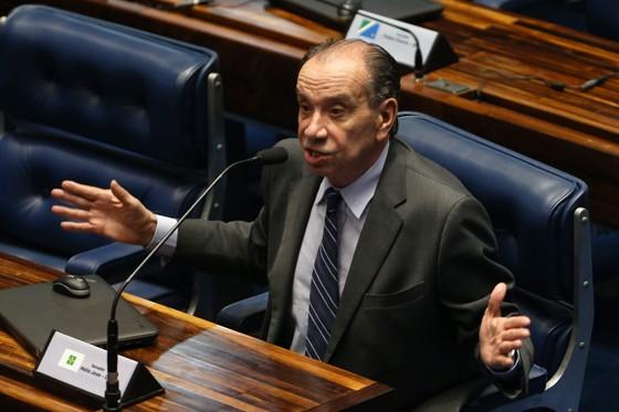 O senador Aloysio Nunes Ferreira (PSDB-SP), novo ministro das Relações Exteriores (Foto: Aílton de Freitas / Agência O Globo)