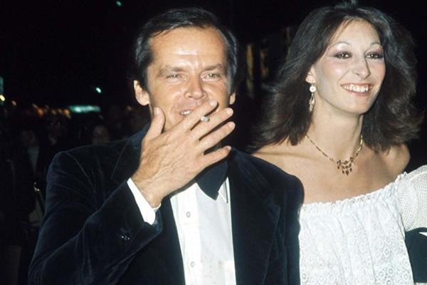 Anjelica Huston e Jack Nicholson (Foto: Getty Images)
