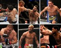 No UFC, 85% dos atletas fizeram  duas lutas ou menos em 2012