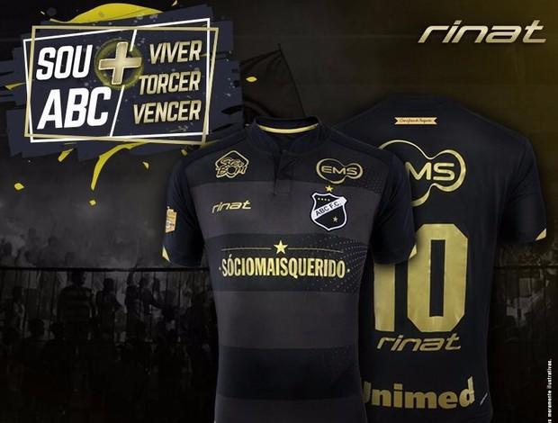 Novo terceiro uniforme do ABC