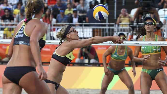 vôlei de praia; alemanha;  Karla Borger; Britta Buthe; brasil; talita; larissa; olimpíadas (Foto: Adrees Latif/Reuters)