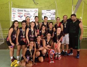 Time feminino de basquete do Espectros (Foto: Divulgação / Espectros)